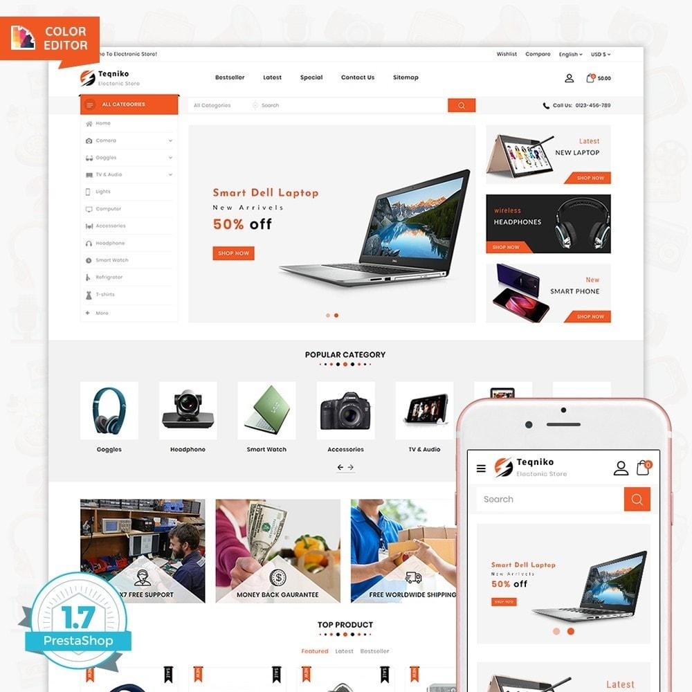 theme - Elektronica & High Tech - Teqniko - The Electronics Supermarket Store - 7
