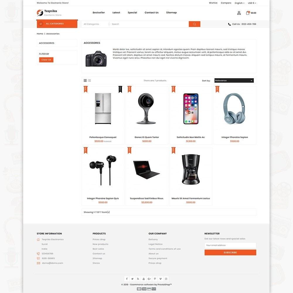 theme - Elektronica & High Tech - Teqniko - The Electronics Supermarket Store - 8