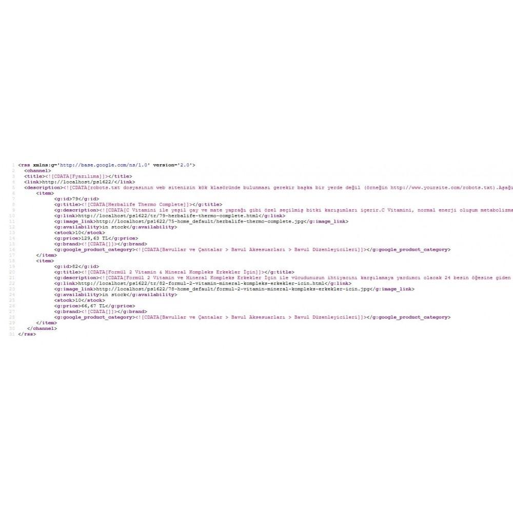 module - Daten Im-&Export - Google Merchant XML - 4