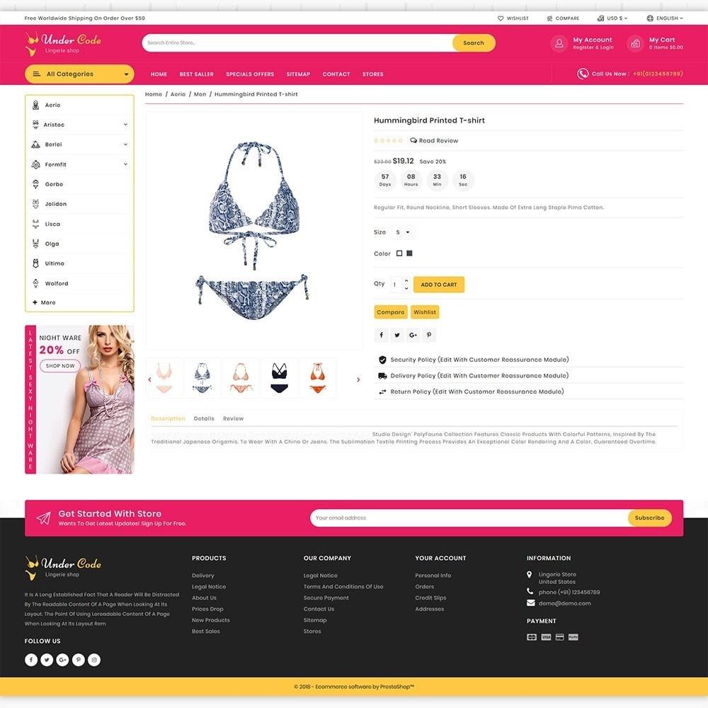 theme - Нижнее белье и товары для взрослых - UnderCode -  Lingerie & Fashion Boutique Store - 6