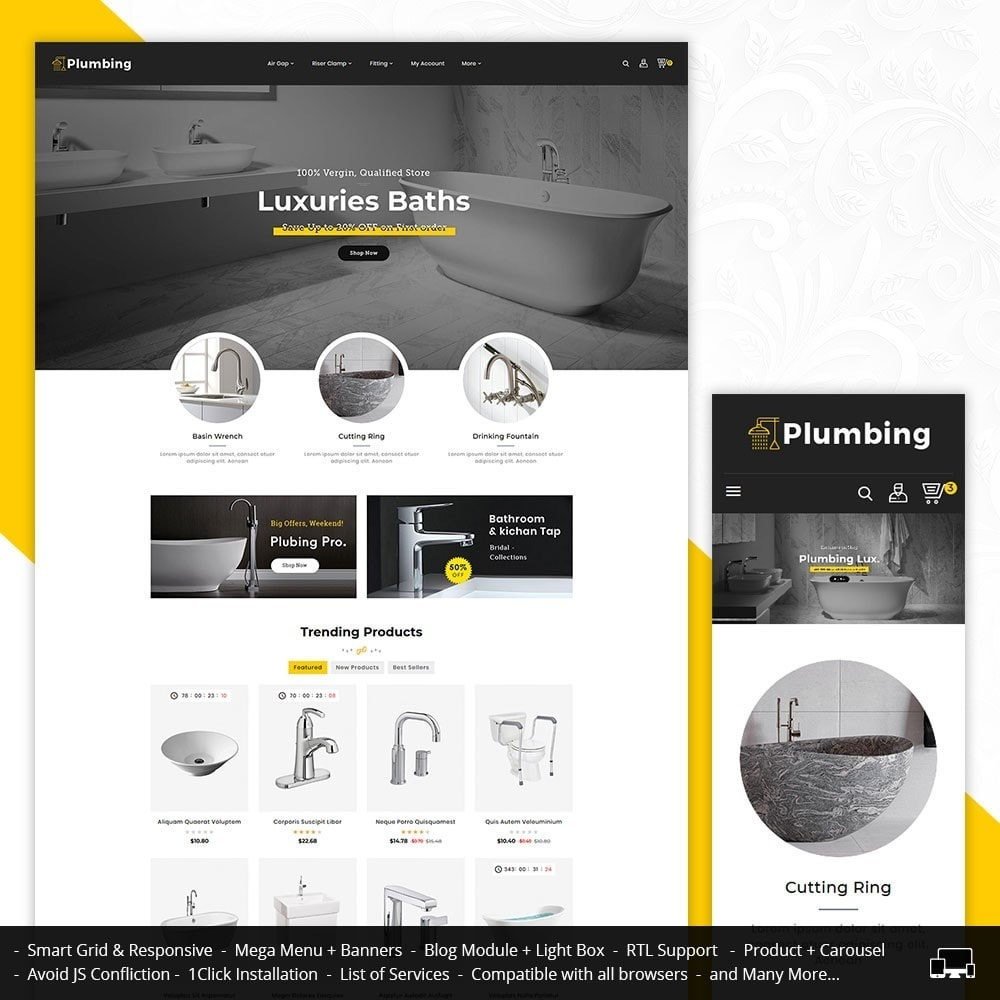 theme - Heim & Garten - Plumbing & Apparatuses - 1