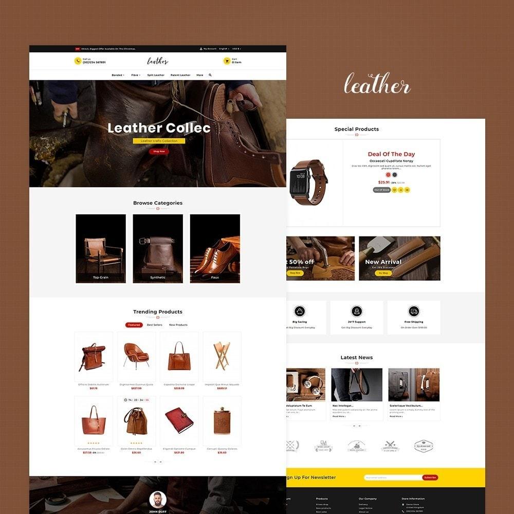 theme - Мода и обувь - Leather Smith & Art - 2