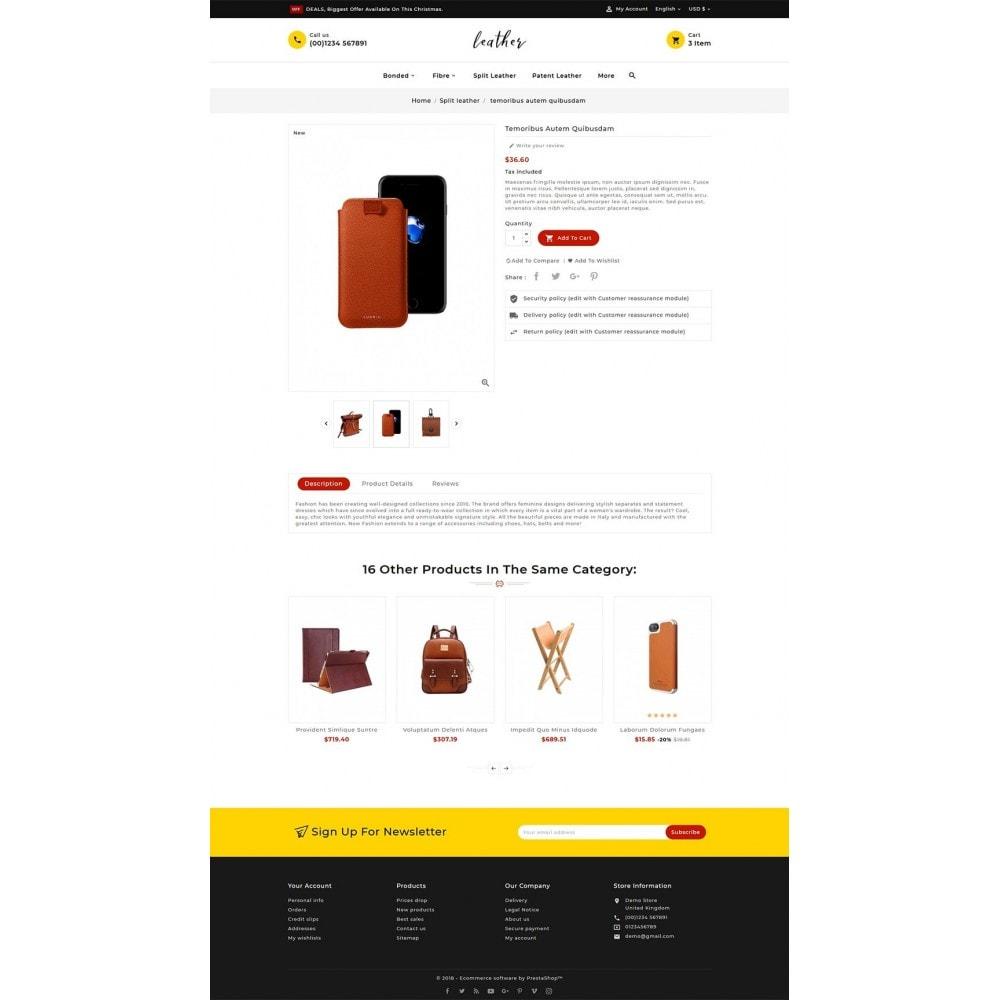 theme - Мода и обувь - Leather Smith & Art - 5