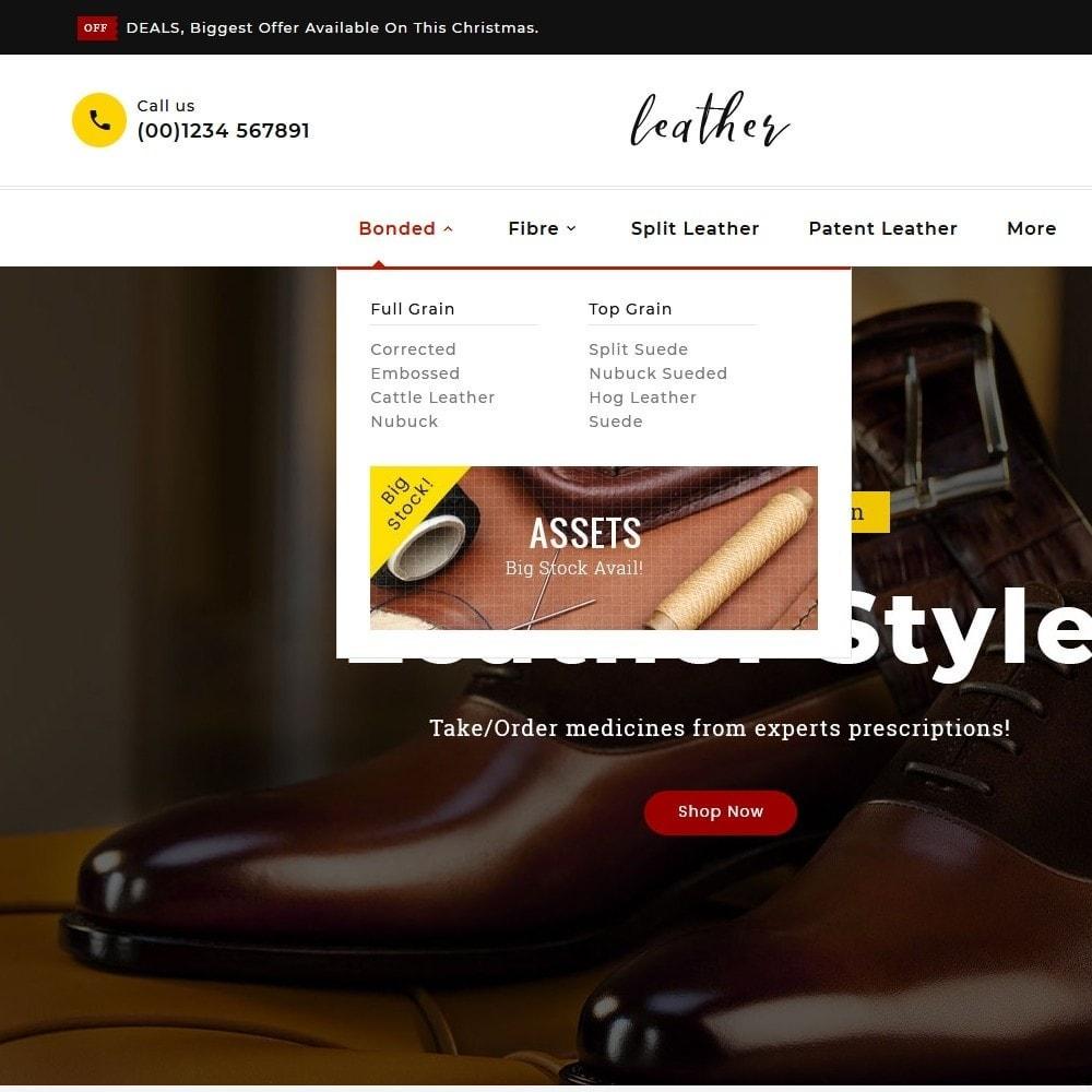 theme - Мода и обувь - Leather Smith & Art - 8