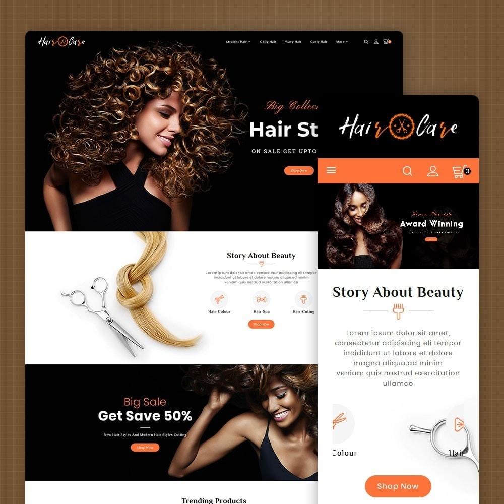 theme - Saúde & Beleza - Hair Care & Salon - 1