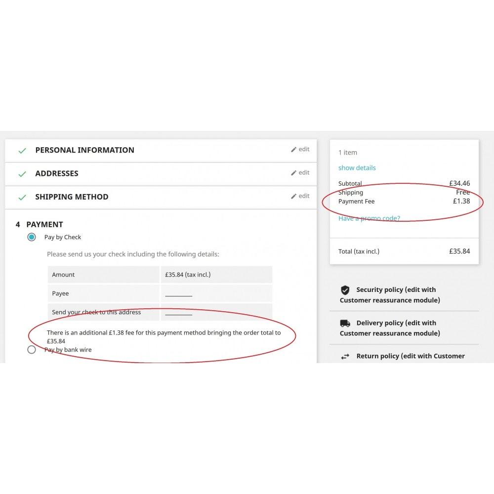 module - Autres moyens de paiement - Additional Payment Fees - 1
