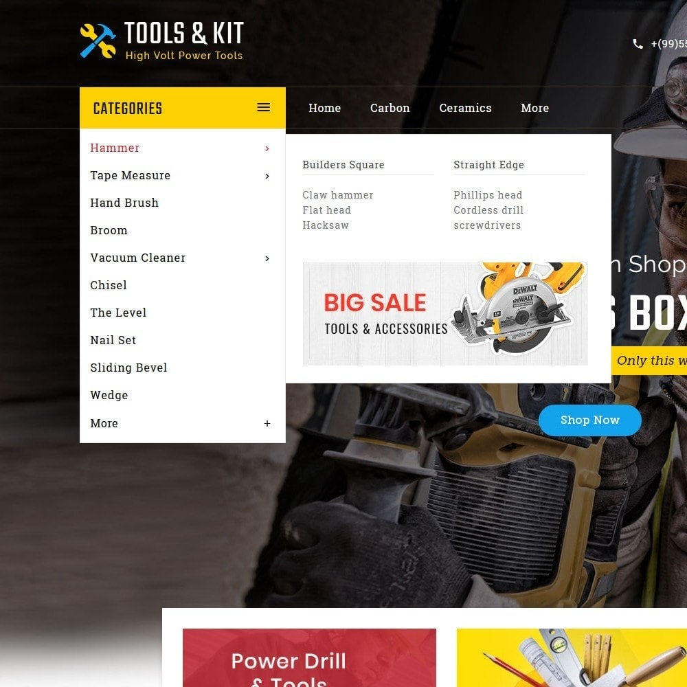 theme - Electronics & Computers - Power Tools & Kit - 8