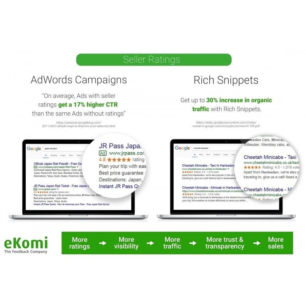 module - Comentarios de clientes - Valoraciones y Calificaciones eKomi - 3