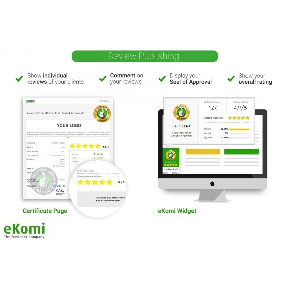 module - Kundenbewertungen - eKomi Bewertungen - 4