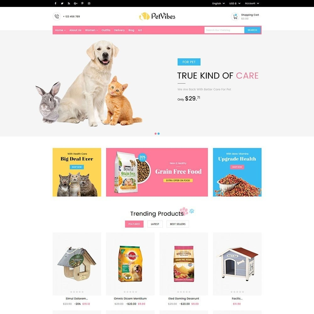 theme - Dieren - Petvibes Pet Store - 2