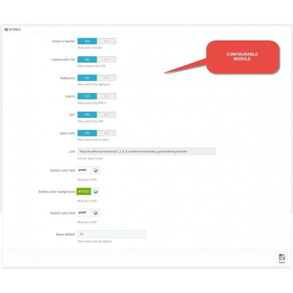 module - Быстрое & массовое редактирование - Quick order - Bulk loading of products to cart - 8