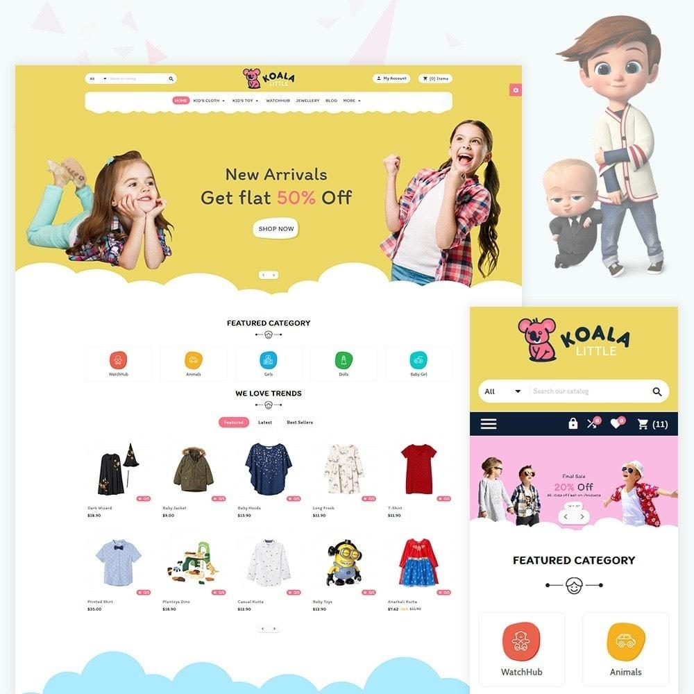 theme - Niños y Juguetes - Kola Little Kids–Toys Play–Fashion Store - 1
