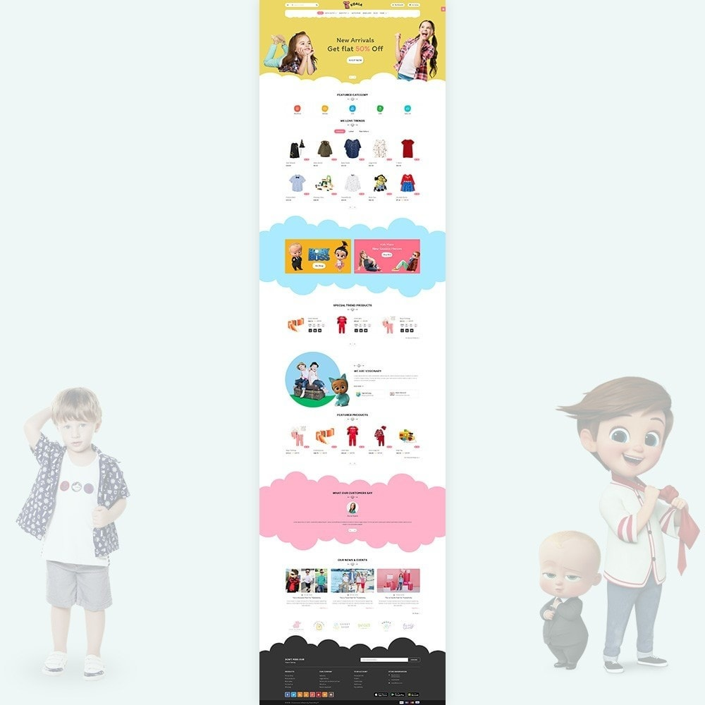 theme - Niños y Juguetes - Kola Little Kids–Toys Play–Fashion Store - 2