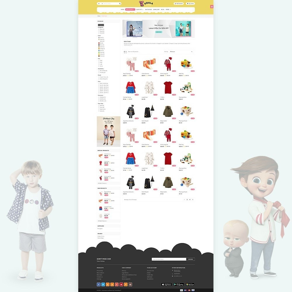 theme - Niños y Juguetes - Kola Little Kids–Toys Play–Fashion Store - 3