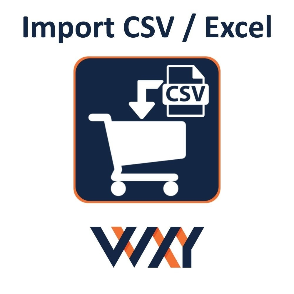 module - Data Import & Export - Import CSV / Excel cart - 1