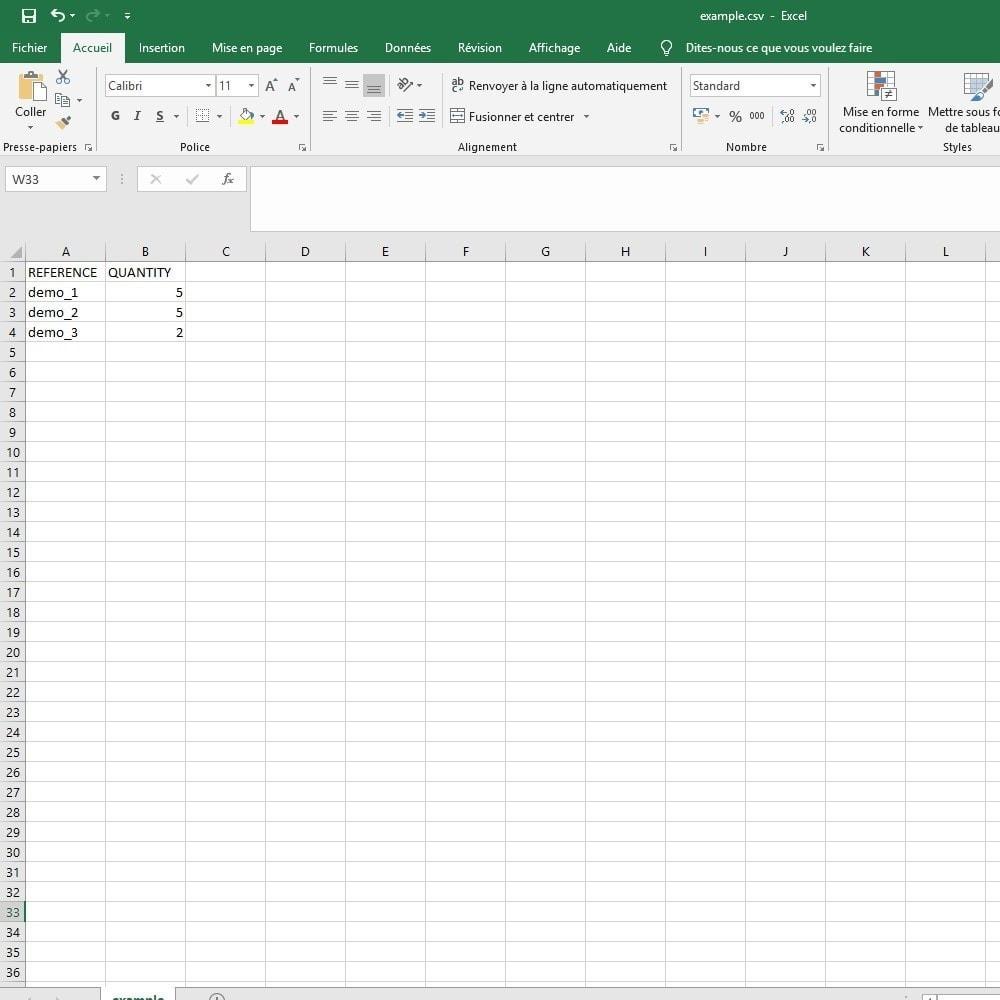 module - Data Import & Export - Import CSV / Excel cart - 4