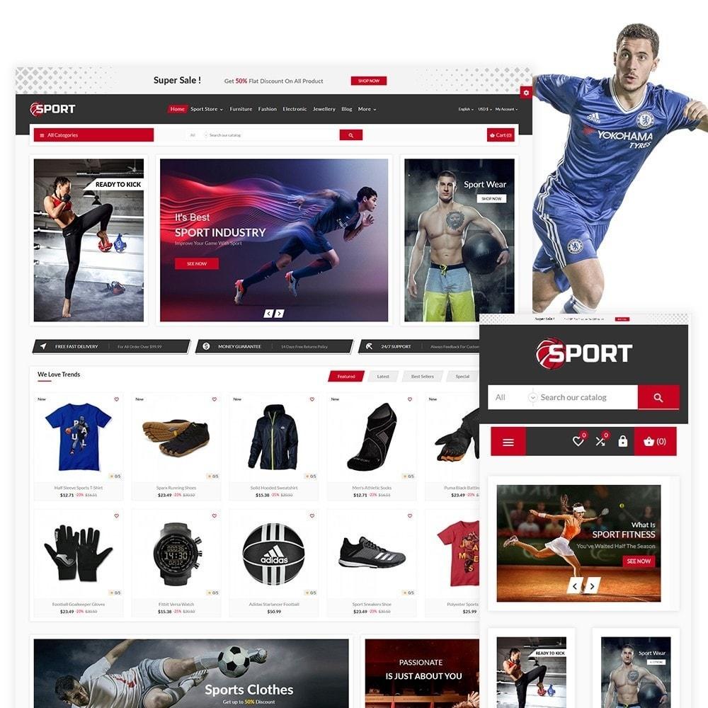 theme - Sport, Activiteiten & Reizen - Sport The Football Sport Shop - 1