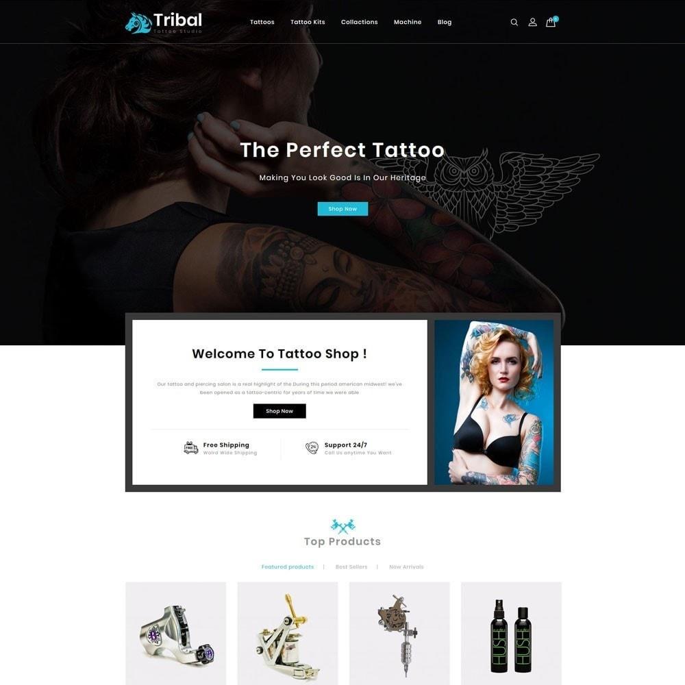 theme - Art & Culture - Tribal Tattoo Store - 2