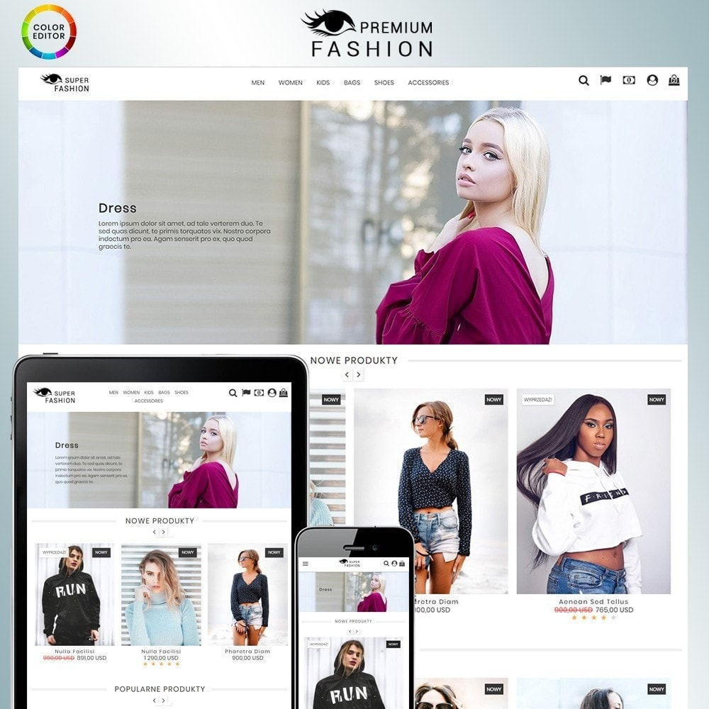 theme - Mode & Schoenen - Premium Fashion Store - 1