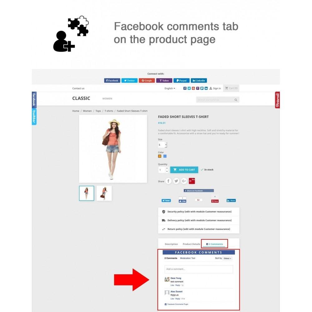 module - Compartir contenidos y Comentarios - Social Logins and Coupons + Addons + Statistics 16 in 1 - 2