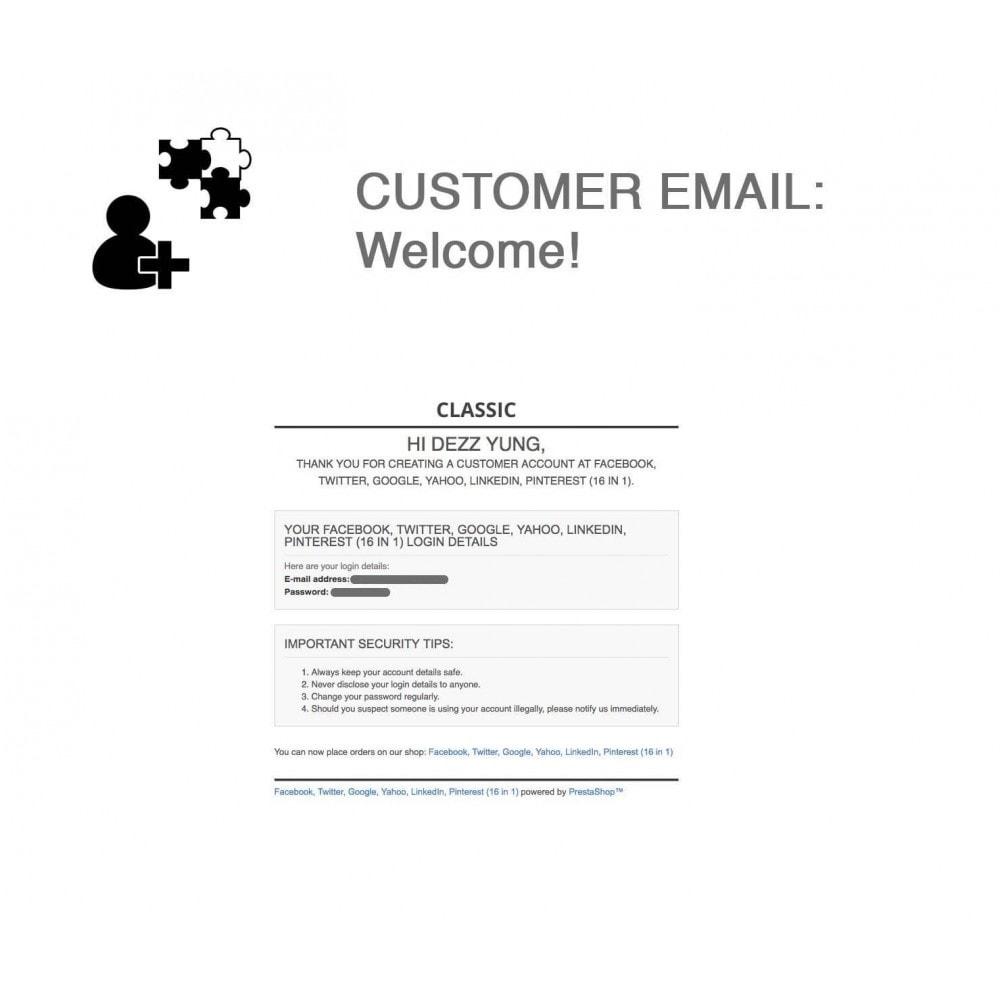 module - Compartir contenidos y Comentarios - Social Logins and Coupons + Addons + Statistics 16 in 1 - 5