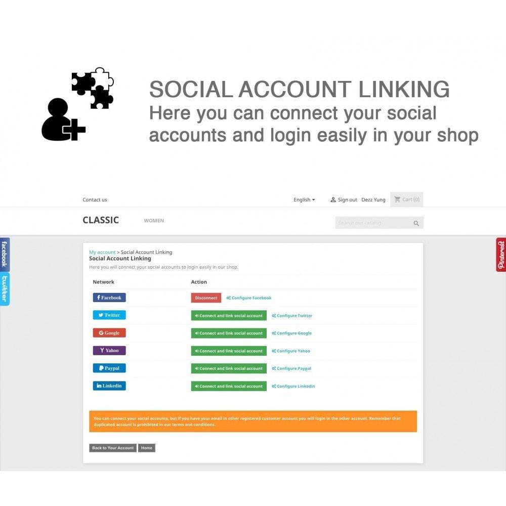 module - Compartir contenidos y Comentarios - Social Logins and Coupons + Addons + Statistics 16 in 1 - 8