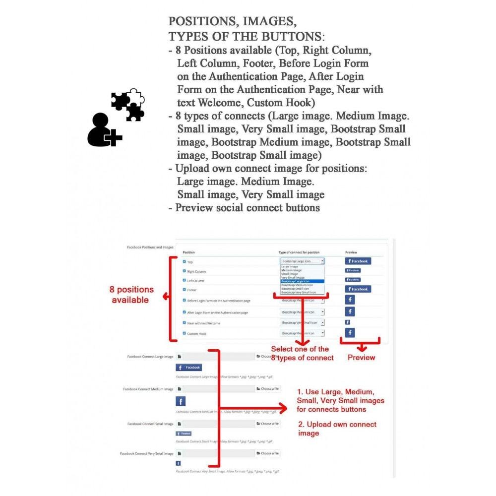 module - Compartir contenidos y Comentarios - Social Logins and Coupons + Addons + Statistics 16 in 1 - 10