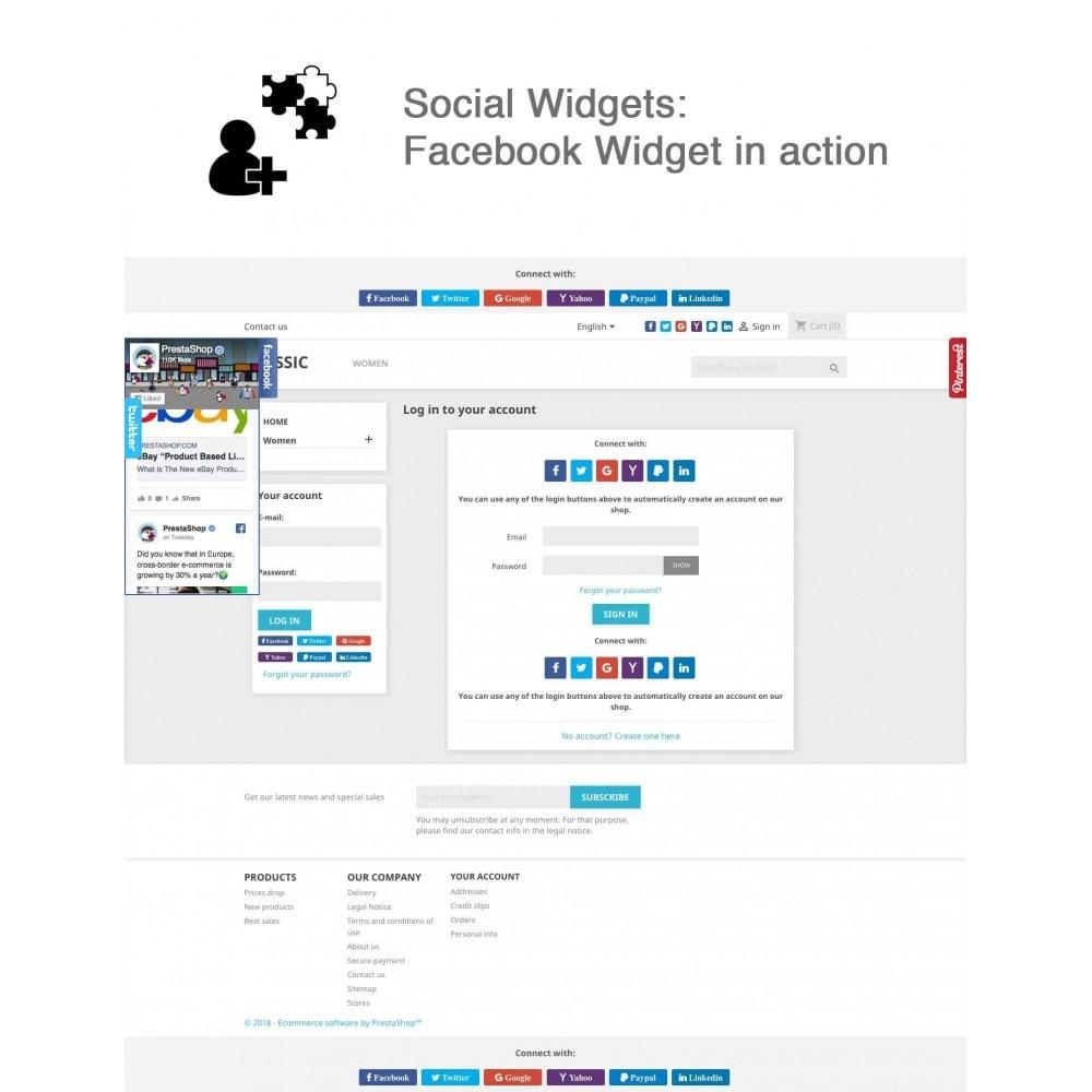 module - Compartir contenidos y Comentarios - Social Logins and Coupons + Addons + Statistics 16 in 1 - 11