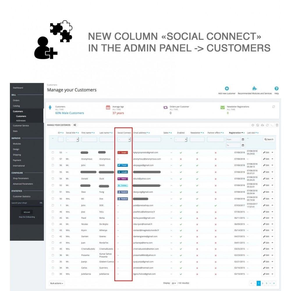module - Compartir contenidos y Comentarios - Social Logins and Coupons + Addons + Statistics 16 in 1 - 22