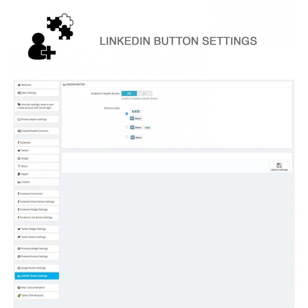 module - Compartir contenidos y Comentarios - Social Logins and Coupons + Addons + Statistics 16 in 1 - 37