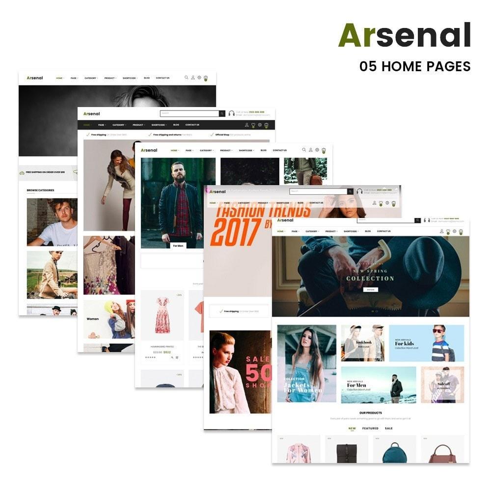 theme - Mode & Schuhe - Arsenal Fashion Store - 2