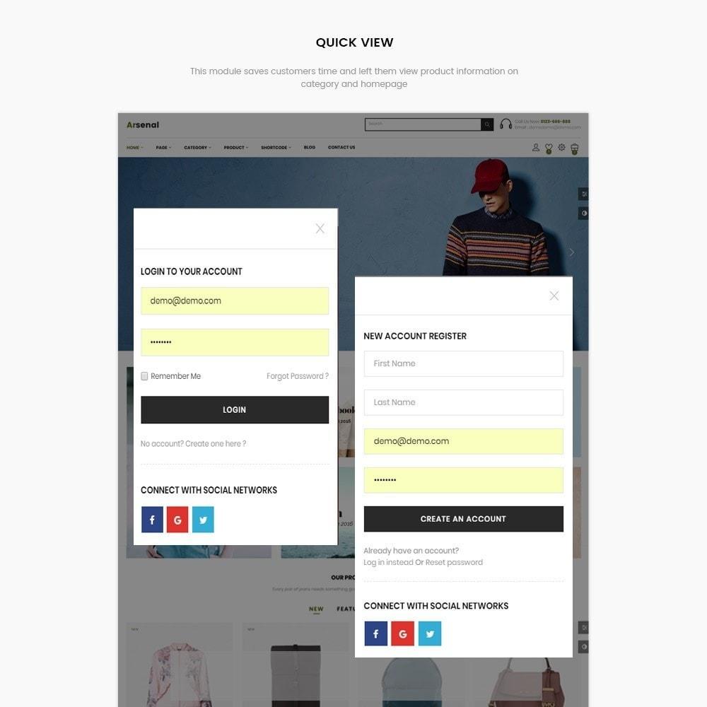 theme - Mode & Schuhe - Arsenal Fashion Store - 5