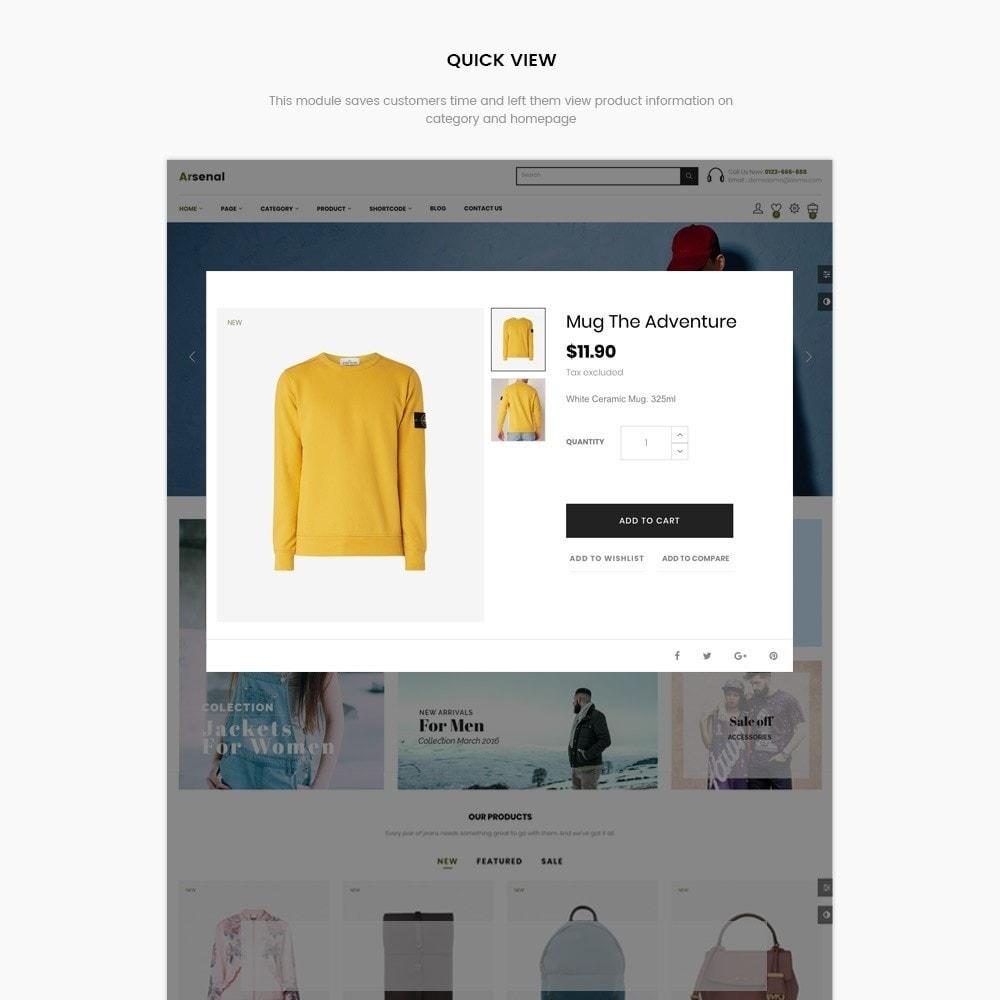 theme - Mode & Schuhe - Arsenal Fashion Store - 6