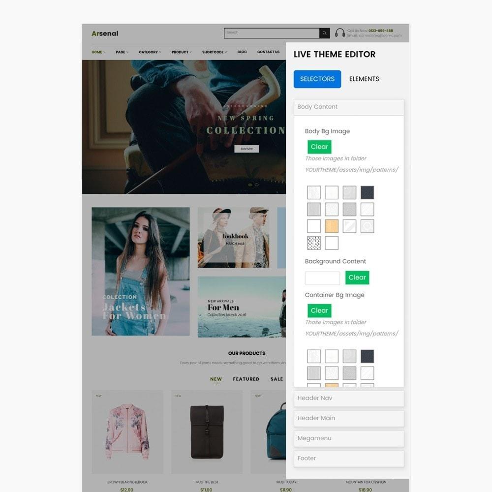 theme - Mode & Schuhe - Arsenal Fashion Store - 7