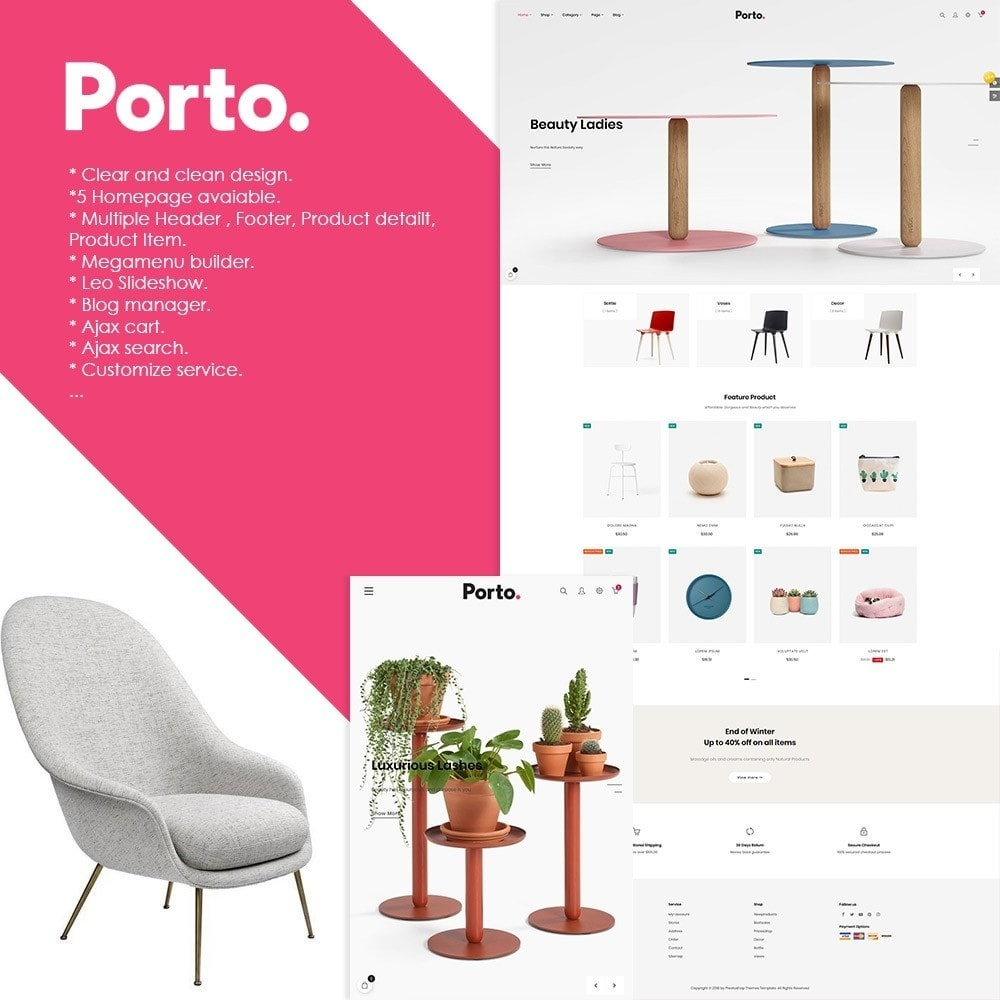 theme - Kultura & Sztuka - At Porto - Decor | Furniture | Fashion | Accessories - 1