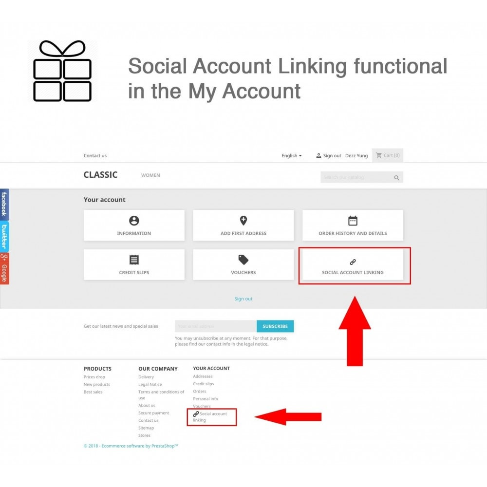 module - Share Buttons & Comments - Full Pack for 4 Social Networks + Statistics - 7