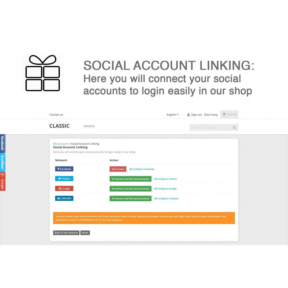 module - Share Buttons & Comments - Full Pack for 4 Social Networks + Statistics - 8