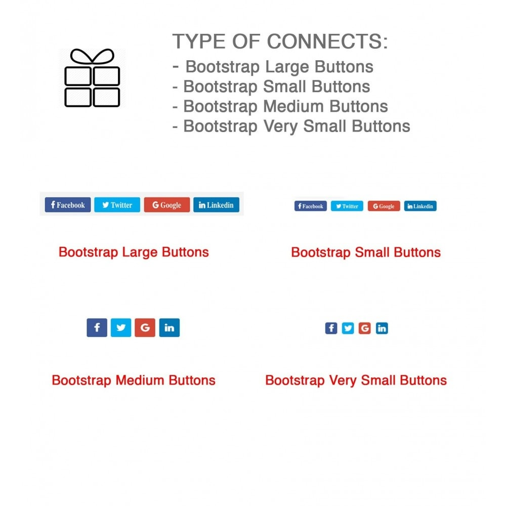 module - Share Buttons & Comments - Full Pack for 4 Social Networks + Statistics - 9