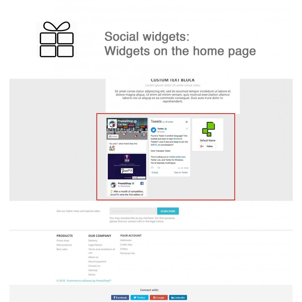 module - Share Buttons & Comments - Full Pack for 4 Social Networks + Statistics - 14