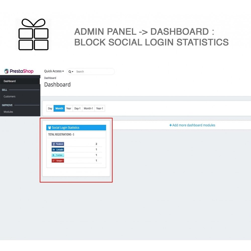 module - Share Buttons & Comments - Full Pack for 4 Social Networks + Statistics - 19