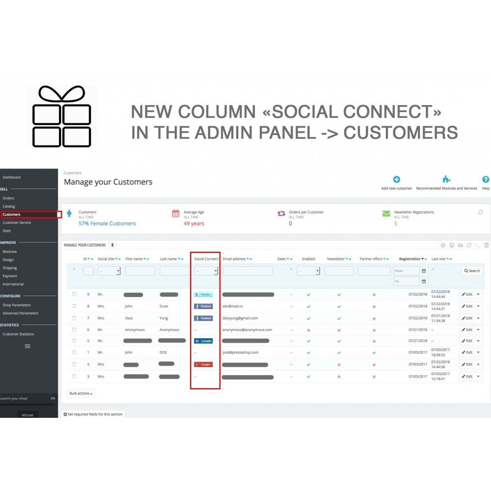 module - Share Buttons & Comments - Full Pack for 4 Social Networks + Statistics - 22