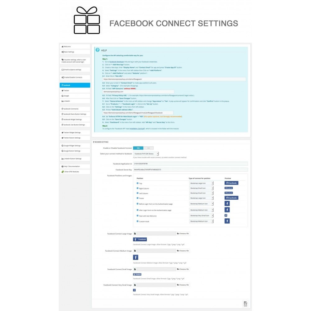 module - Share Buttons & Comments - Full Pack for 4 Social Networks + Statistics - 27