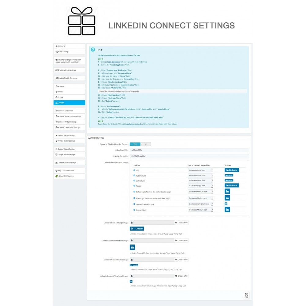 module - Share Buttons & Comments - Full Pack for 4 Social Networks + Statistics - 30