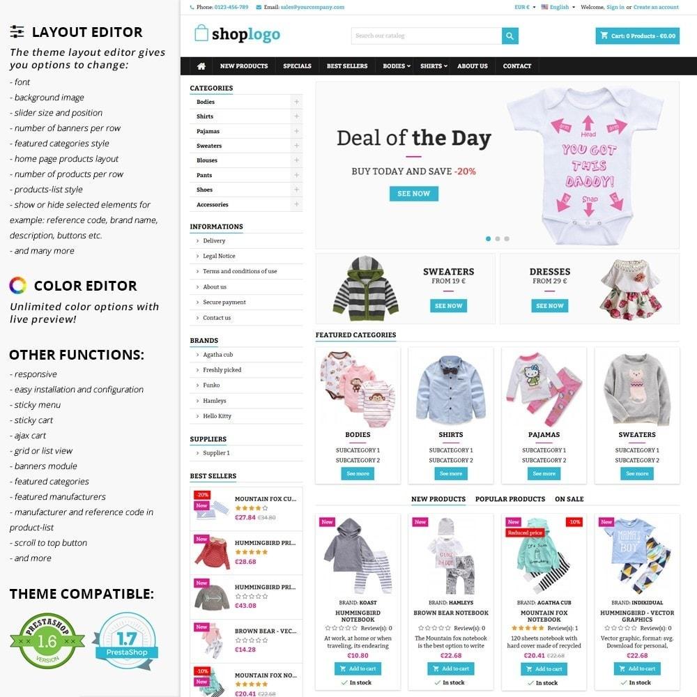 theme - Crianças & Brinquedos - AT20 - Kid cloths and toys store - 1