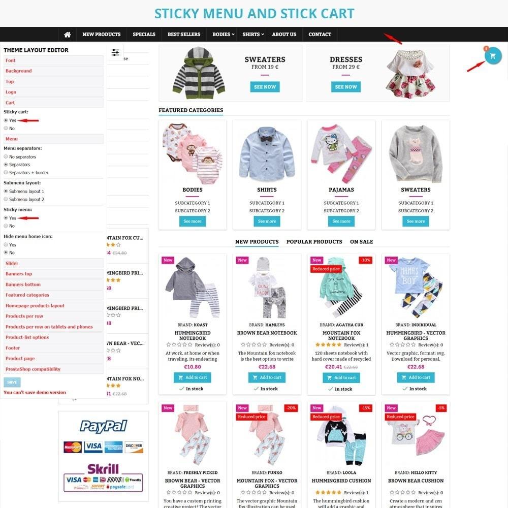 theme - Crianças & Brinquedos - AT20 - Kid cloths and toys store - 5