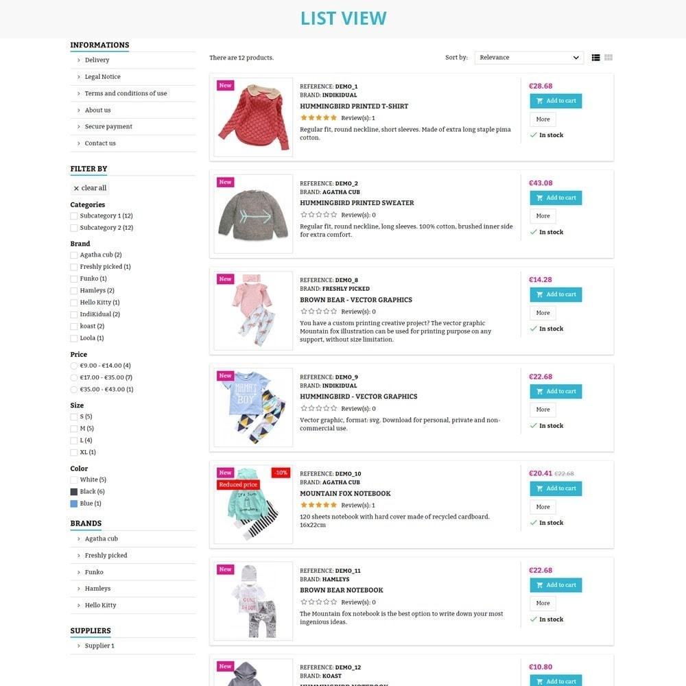 theme - Crianças & Brinquedos - AT20 - Kid cloths and toys store - 7