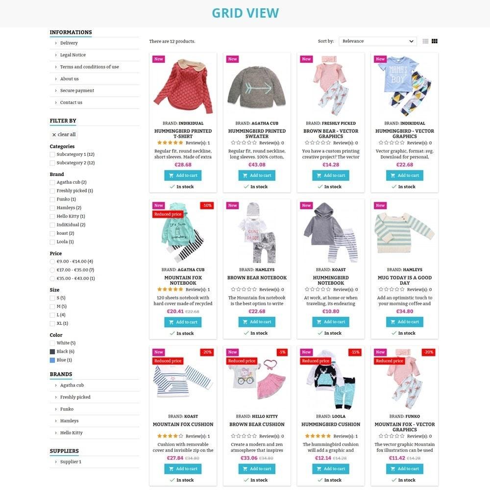 theme - Crianças & Brinquedos - AT20 - Kid cloths and toys store - 8