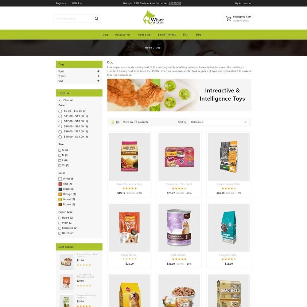 theme - Animales y Mascotas - Wiser Pets Store - 3