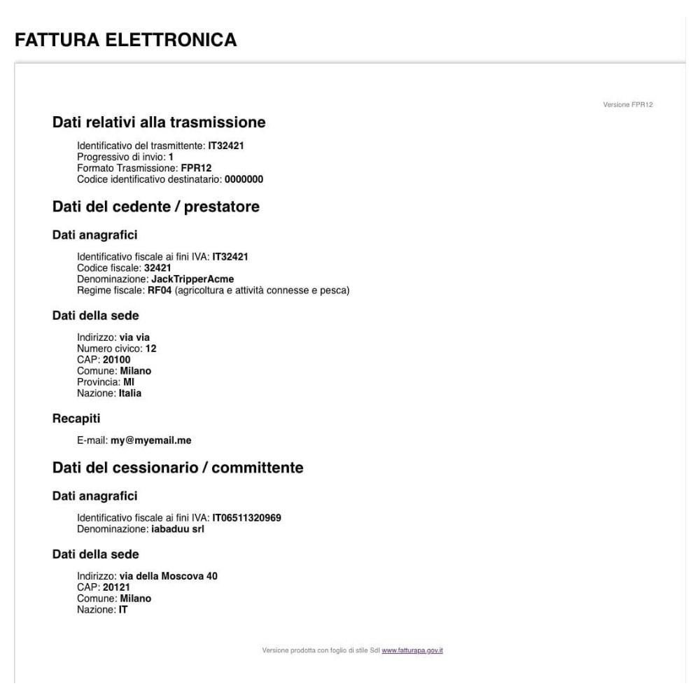 module - Boekhouding en fakturatie - Digital invoice XML - 2