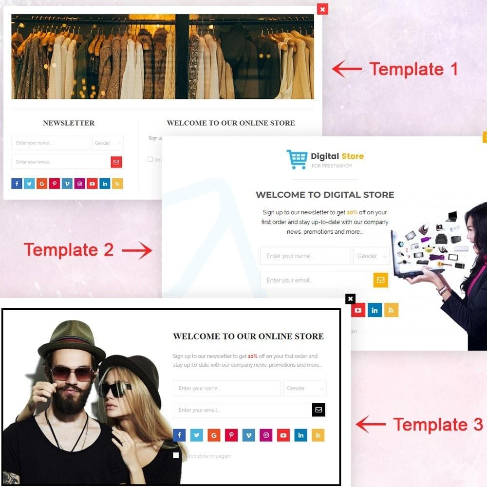 module - Pop-up - Responsive newsletter popup - 2